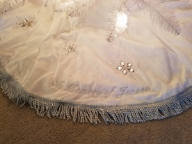The tree skirt