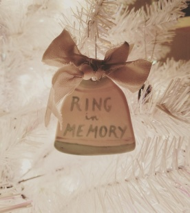 A beautiful ornament from a fellow loss mom, Kerstin, who lives in Germany